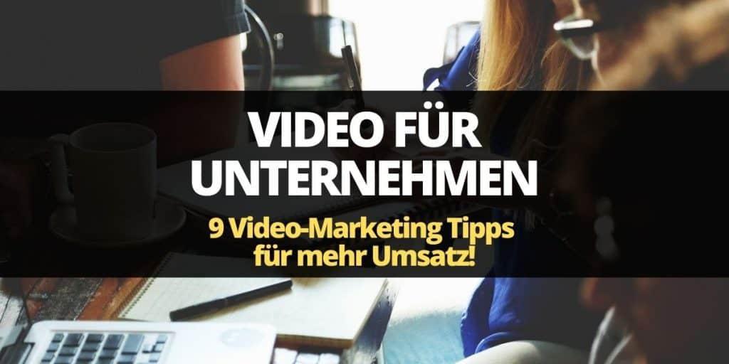 videos für unternehmen