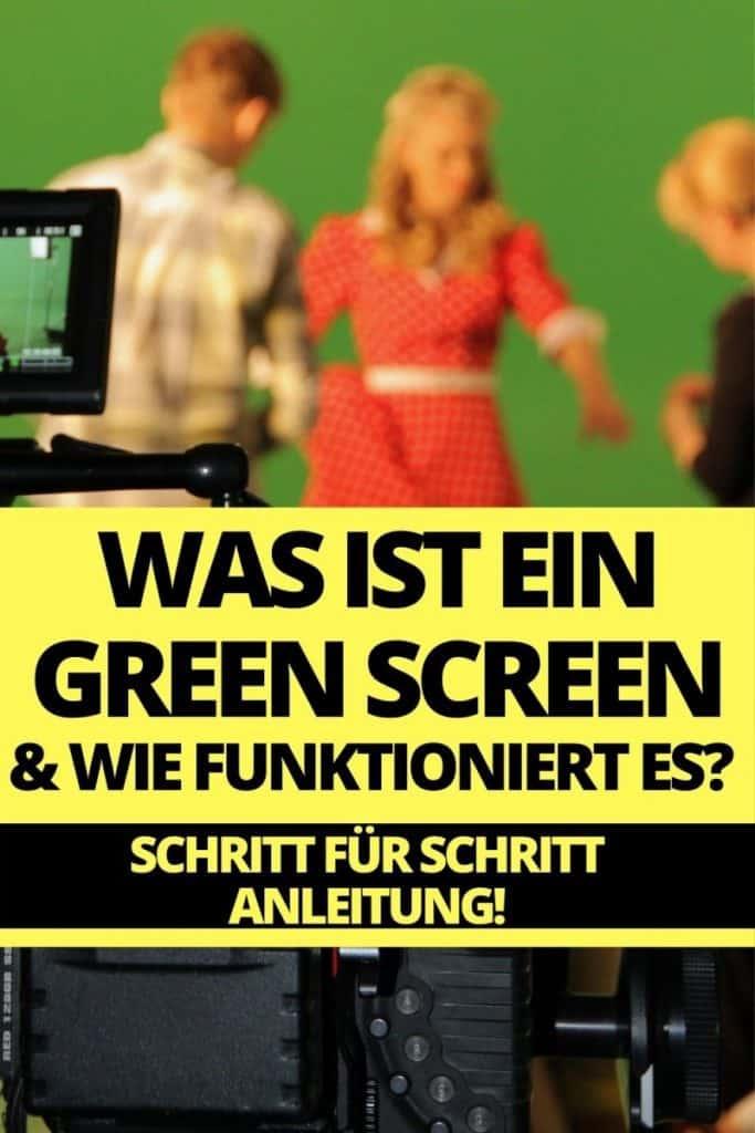 wie funktioniert ein green screen